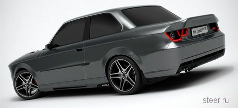 Венгры разработали тюнинг-пакет для BMW 30-летней давности (фото)