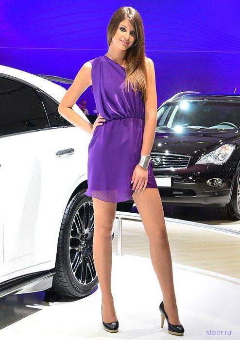 Девушки московского автосалона 2012 (фото)