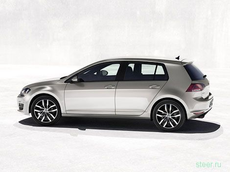 Первые фотографии седьмого поколения VW Golf (фото)