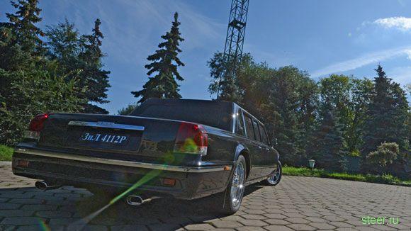 ЗИЛ-4112Р Monolit : Президентский лимузин от ЗИЛа готов (фото)