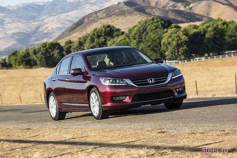 Honda рассекретила новый Accord (фото)