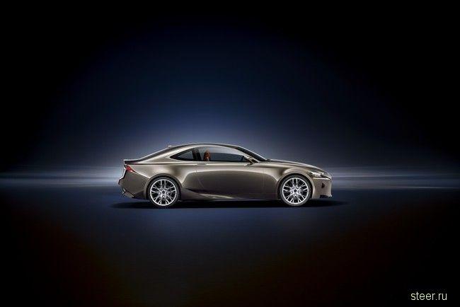 Lexus LF-CC: первые фото (фото)