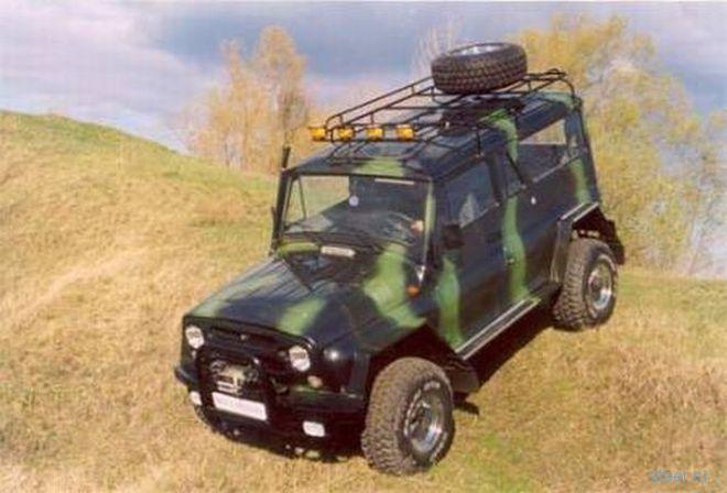 Тюнинг отечественного внедорожника УАЗ (фото)