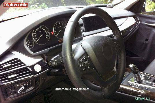 Новая BMW X5: фото салона