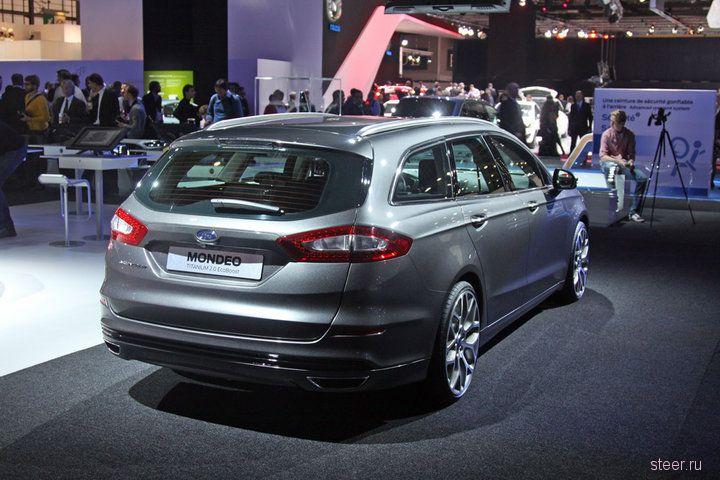 Новый Ford Mondeo (обзор и фото)