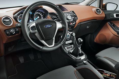 Ford подробно рассказал о новой Фиесте