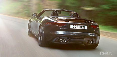 Jaguar рассекретил компактный родстер F-type