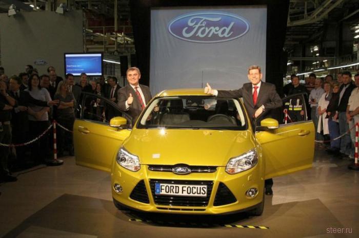 Cборка Ford Focus нового поколения (фото)