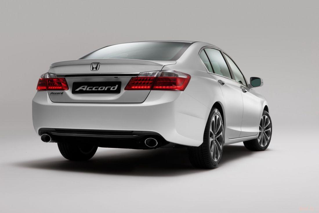 Российская Honda представила новое поколение седана Accord