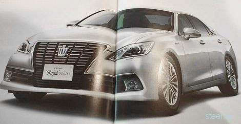 Появились изображения нового поколения Toyota Crown 14-го поколения