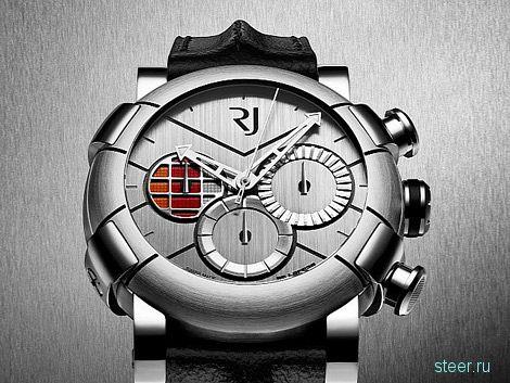 Швейцарцы выпустили часы из бракованных кузовных панелей спорткаров DeLorean