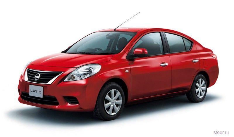 Nissan представил в Японии новую модель Latio