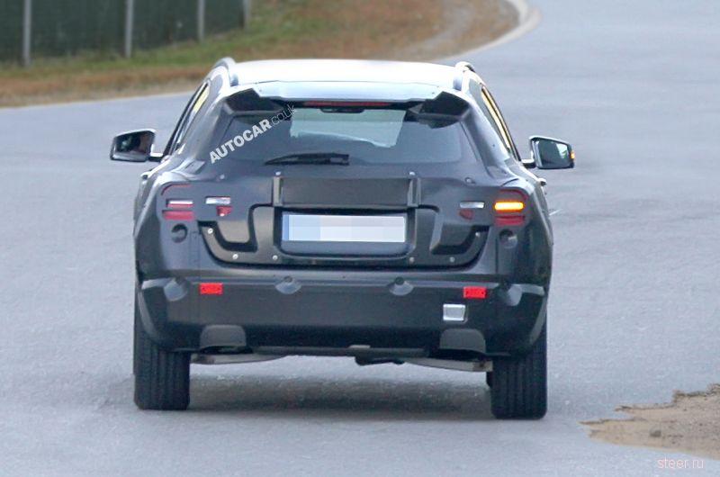 Mercedes тестирует компактный кроссовер GLA
