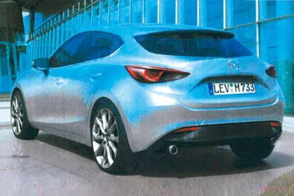 Новая Mazda3: внешность раскрыта