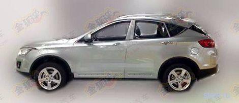 Китайцы построили кроссовер на базе Mazda6