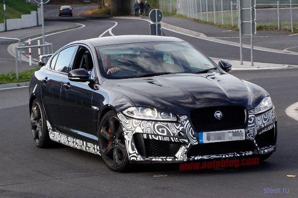 Jaguar XFR-S: первые шпионские фото