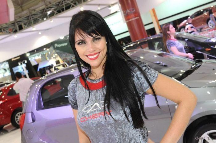 Бразильские девушки на шоу