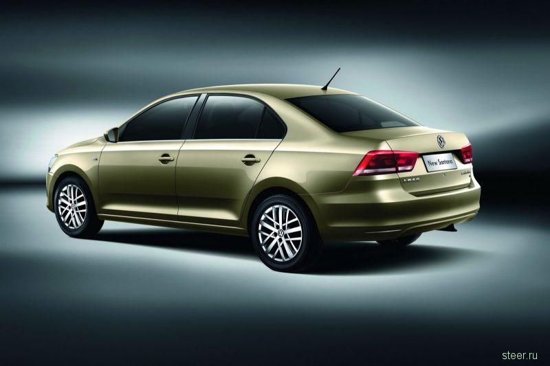 Volkswagen представил Santana второго поколения через 30 лет после выхода первого