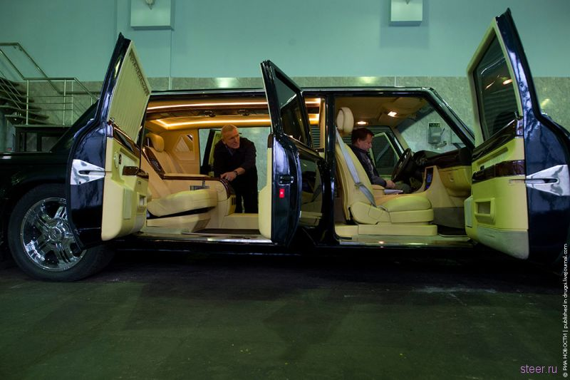 ЗиЛ показал новый лимузин для Владимира Путина