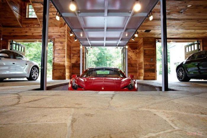 Удивительный гараж от компании TR Building & Remodeling Inc