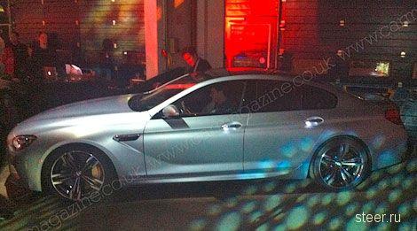 Самую мощную четырехдверной BMW 6-Series засняли без камуфляжа