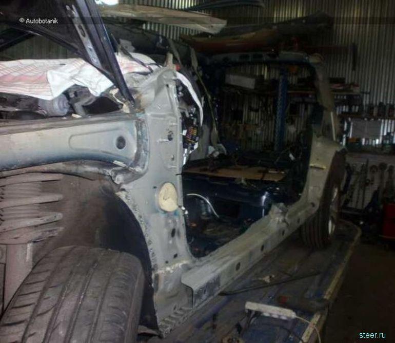 Полное восстановление не подлежащего ремонту автомобиля