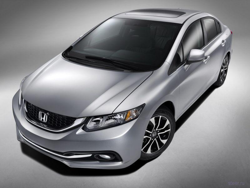 Honda обновила Civic через полтора года после выхода нового поколения