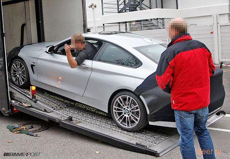 Фотошпионы увидели серийную четверку BMW