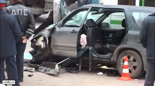 Сбившая пешеходов девушка перепутала педали