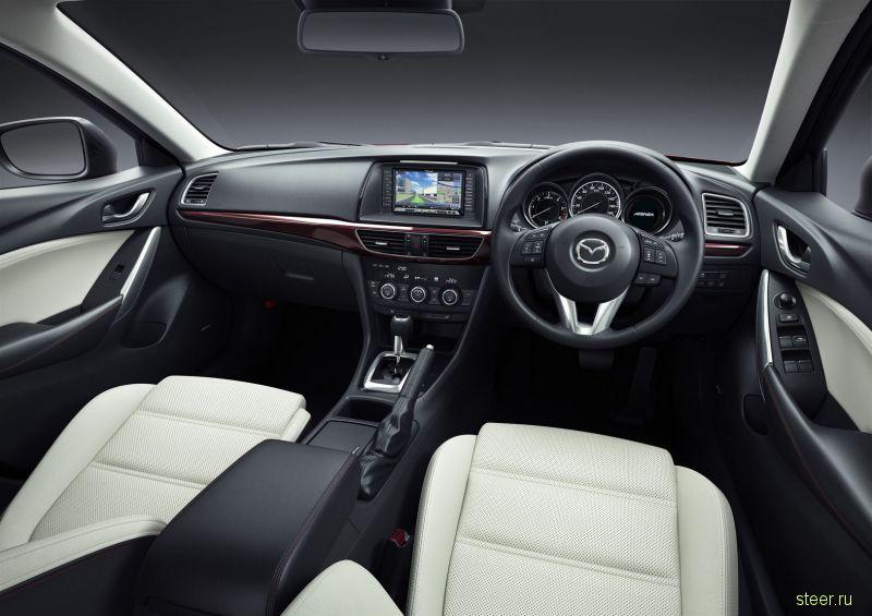 Новая Mazda Atenza представлена на рынке Японии