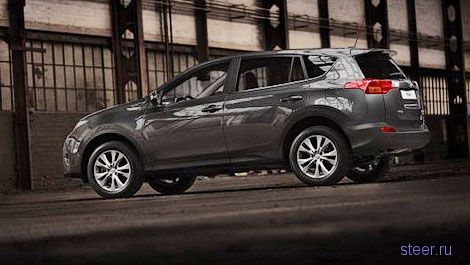 В интернете рассекретили внешность новой Toyota RAV4