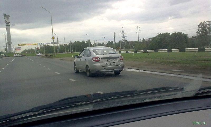 Рассекречена Lada в модном кузове лифтбеке