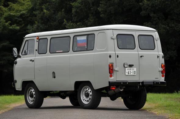 Японский взгляд на российскую «буханку». Отчет о тест-драйве УАЗ 3909