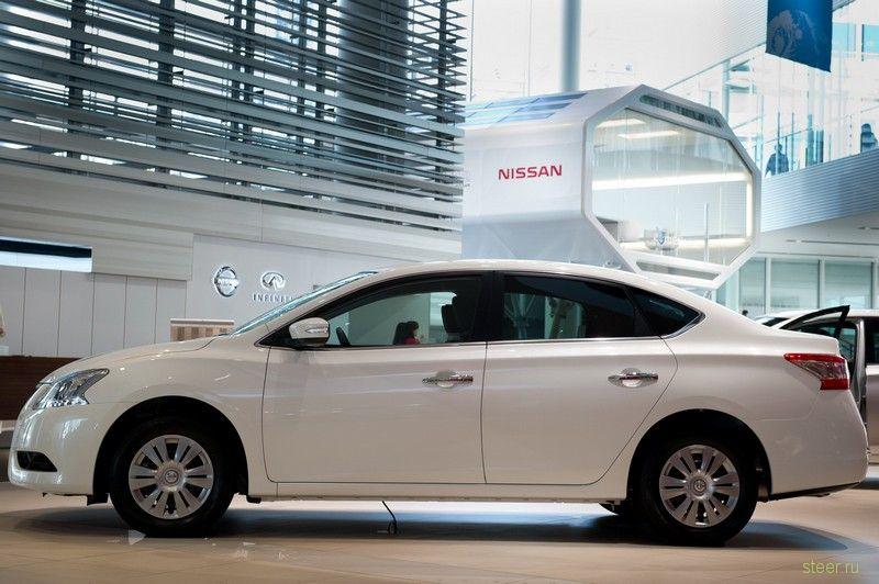 Nissan представил в Японии новый седан Sylphy