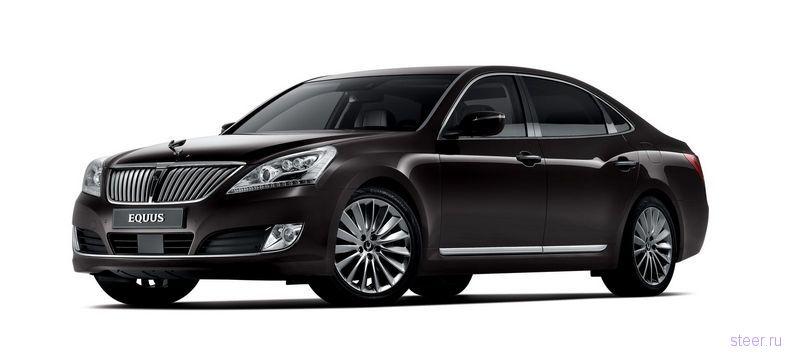 Hyundai обновил флагманский седан Equus