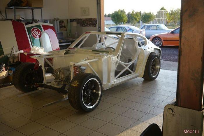 Авто для дрифта из старого Datsun