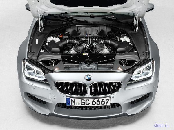 BMW M6 Gran Coupe: показаны официальные фото