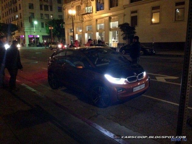 Электрический BMW i3 попался в США