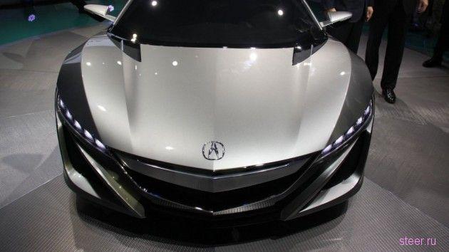Следующее поколение Honda NSX готовят к показу