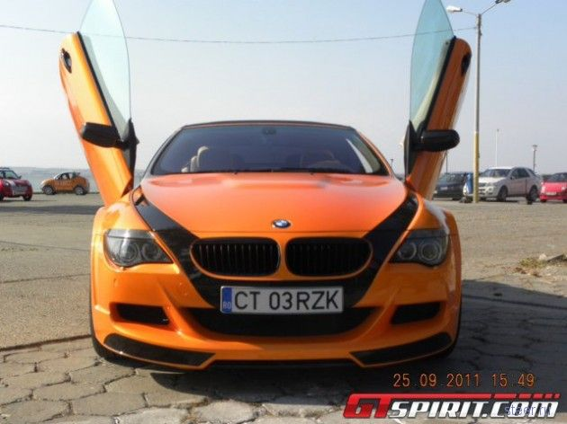 Румынский тюнинг для кабриолета BMW M6