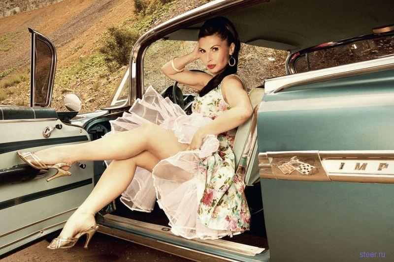 картинки девушка и машин одетые