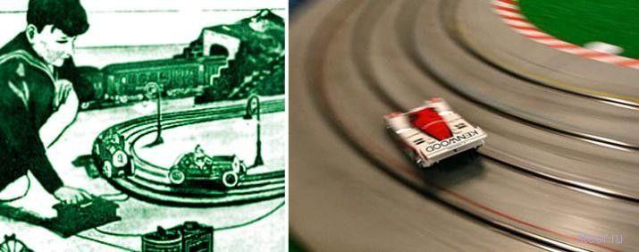 Миниатюрные гоночные автомобили