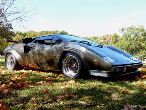 Уникальная реплика Lamborghini Countach выставлена на продажу
