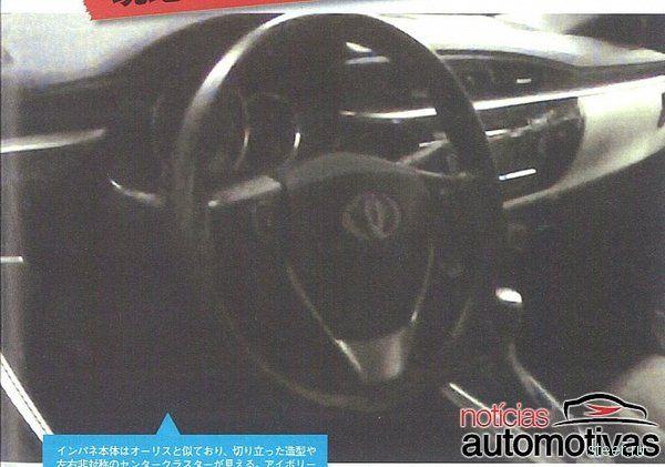 Новая Toyota Corolla: первые фото