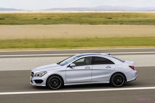Mercedes CLA: официальные фото и информация