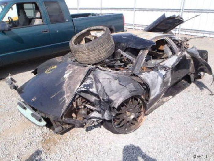 Этот Lamborghini Murcielago 2003 выставлен на продажу всего за $11,600.