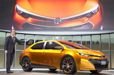 Toyota показала предвестника новой Corolla