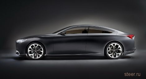 Компания Hyundai представила концепт роскошного седана, предвестника нового Genesis