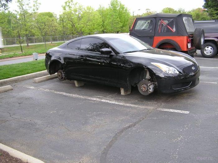 Почему нельзя оставлять спорткары без присмотра