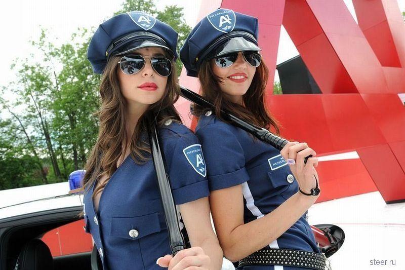 Девушки, работающие на трассе